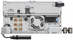 Back panel view of DNX9990HD_K