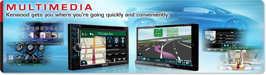 Kenwood eXcelon Navigation and Multimedia Receivers